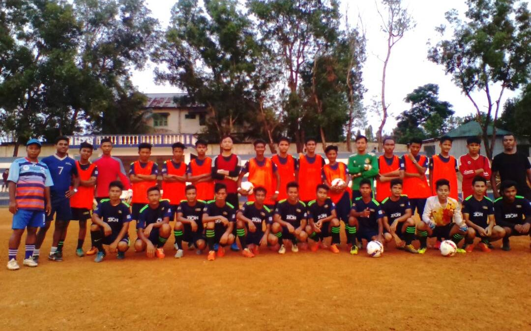 Basic Level Football Coaching – Agartala, Tripura